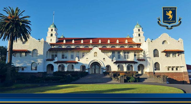 Học bổng trung học New Zealand tại Auckland Grammar School