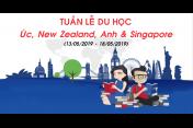 Tuần lễ du học Úc, New Zealand, Anh và Singapore